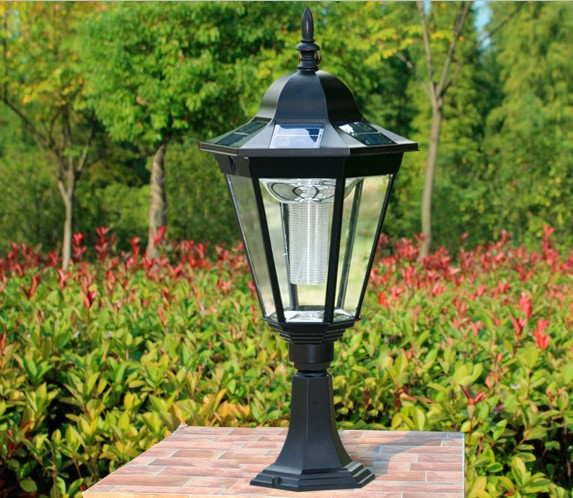 SPL 711 Solar Pillar LED Light Solar the light