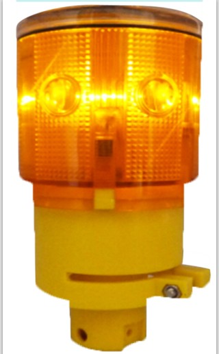 Solar Flashing Lamp Love and Solar the Light Heal the World