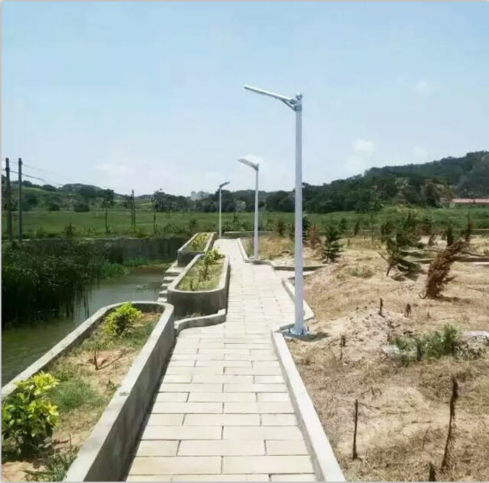 Thailand Solar Street Light Project from love and solar
