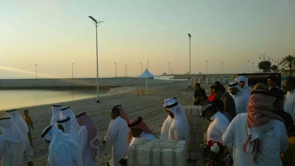 UAE Solar Street Light Project from love and solar