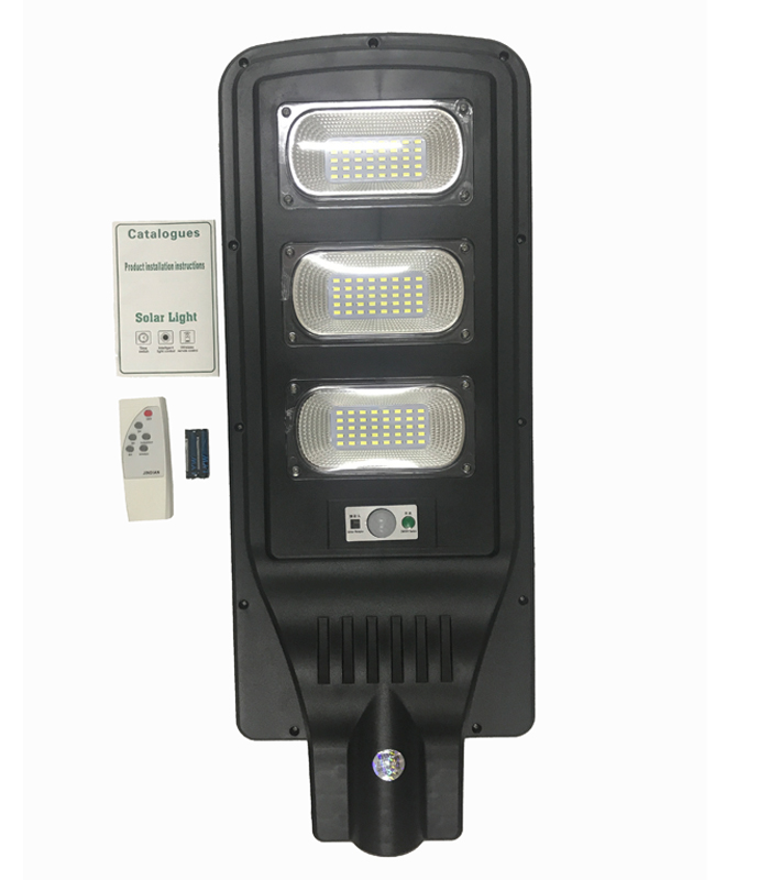 120PCS LED JD-1960 Remote Control All in One Solar Street Light