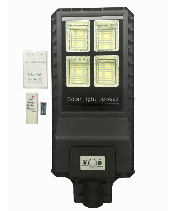 JD-9990 Remote Control All in One Solar Street Light 432PCS LED
